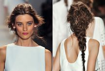 Runway Hair Inspiration / Best of new hairstyles