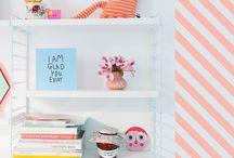 Birds & Bots | Moodboard nursery babygirl / Moodboard for our own nursery