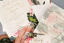 Wedding: save the date & invitations