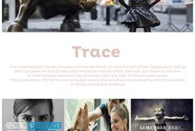 Trend : Trace / Strong and sensitive this ethereal trend combines the attention to detail with unexpected feminine strength.  Expression and layers are key with unusual combinations.