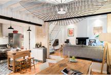 Rénovation d'une échoppe bordelaise / J'ai découvert sur Houzz, la sublime rénovation d'une maison typique bordelaise : une échoppe. Découvrez le résultat, chaleureux, scandinave et moderne à la fois.