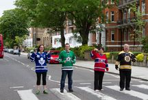 Stars on the Road / Dallas Stars fans take their love of the team on their travels abroad.