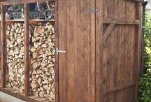 Holz stapeln