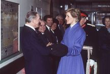 13 February 1990~Princess Diana opens the George Thomas Scanner Suite~The Princess of Wales Hospital~Bridgend~Wales / 13 February 1990~Princess Diana opens the George Thomas Scanner Suite~The Princess of Wales Hospital~Bridgend~Wales