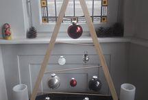 Sapin de Noël en bois / Wood Christmass tree DIY