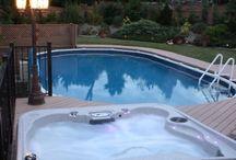 svømmebaseng/boblebad