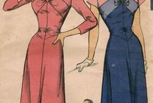 Vintage 1940's Women's Dress