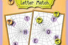 alfabe etkinlikleri