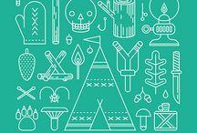 scandinavian & minimalistic graphic design