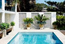 pool screens and backdrops