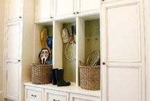 Mud room / garage