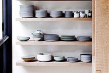 dishes storage
