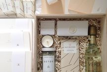 GIFT BOXES + FAVORS