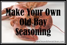 Seasonings and Sauces / How-to board designed to teach you how to make your own seasoning combinations with no added fillers or preservatives. Eat clean even with your seasoning mixes!