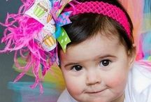 HAIR BOWS: BIRTHDAY / by Marlena Cook