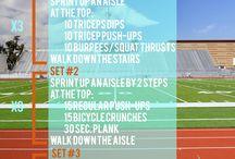 Stadium workouts / by Julia Webb