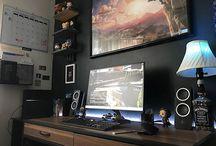 sexy sexy gaming setups
