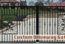 Automatic Driveway Gates / Specializing in automatic driveway gates and operators