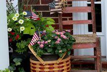 Fourth of July Porches / by Terri Ulmer