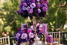 Bröllop bordsdekoration