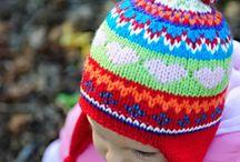 hæklet og strikket baby og børne huer