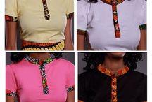 camisas Africana