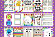 CLSRM - Display / Gathered ideas for walls or furniture in classroom
