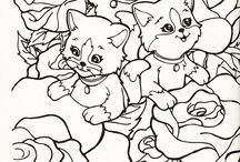 coloring pages 41 (cats+dogs)