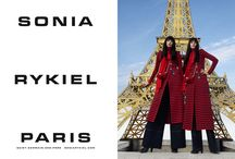 Sonia Rykiel Fall Winter 2016 Ad Campaign / Sonia Rykiel Fall Winter 2016 Ad Campaign