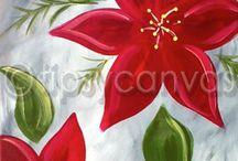 Χριστουγεννιατικοι πίνακες ζωγραφικής