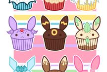 Evee cupcakes