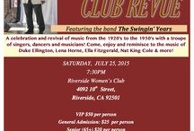 Cotton Club Revue / A celebration and revival of music from the 1920s to 1950s by a troupe of singers, dancers and instrumentalist made famous at the old Cotton Club of Harlem. A fundraiser for the Riverside Lyric Opera.