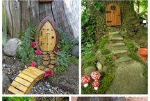 Creative fairy houses