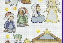 x szemes karácsonyi minta
