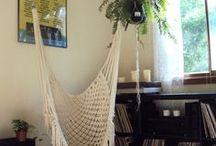 Macrame hammock