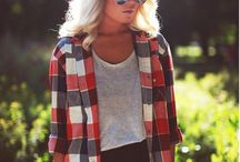 Stuck in Colder Weather / Clothes for fall & winter. / by Lanie Andrews