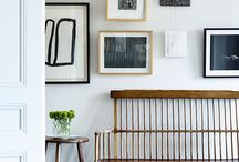 Styling a room / Hanging paintings and artwork,  decor, placing furniture