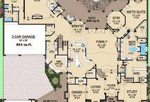 Dream home plans / by Jessica Crane