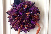 Halloween Deco Mesh / by Denise Cooper