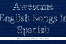 Spanish--Music Activities / by Megan Ashley