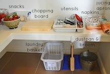 Montessori stations / Montessori prvky
