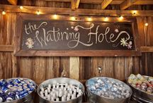 Country Barn Wedding Ideas / Get a little rustic with these country wedding ideas.