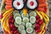 grønnsaker pynter