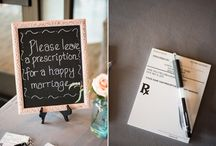 Medical theme wedding