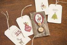 Stampin' Up! Fall Winter Christmas / by Rebecca Terry - Independent Stampin' Up! Demonstrator