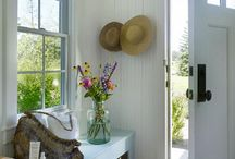 home | passages and spaces / Entryway, mudroom, halls, nooks, & stairs. / by Taryn H