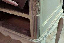 Muebles reciclados / Antiguos muebles remozados