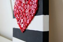 DIY love hearts / Paper card etc