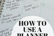 Planner / How to use
