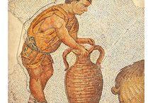 Byzantine Roman mosaics